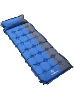 El cojín inflable al aire libre ensancha la cama para dormir con almohadilla para una sola persona
