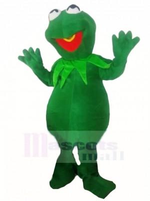 Tímido Kermit The Frog Disfraz de mascota
