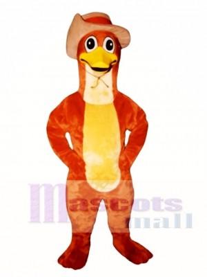 Perry Ornitorrinco Pico de Pato con Sombrero Disfraz de mascota