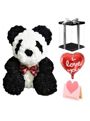 Panda Oso rosa El mejor regalo para el Día de la Madre, San Valentín, Aniversario, Bodas y Cumpleaños