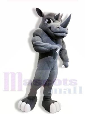 Poderoso rinoceronte Disfraz de mascota