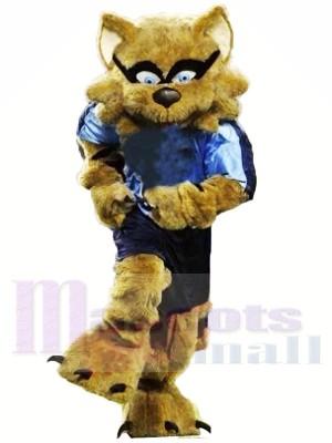 Mapache marrón fuerte Disfraz de mascota