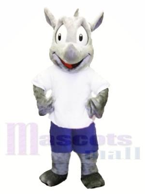 Deportivo Robert Rhino Disfraz de mascota