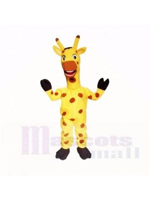 Jirafa Ligera Amistosa Amarilla Disfraz de mascota