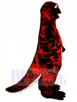 Salamandra Sally Roja y Negra Disfraz de mascota