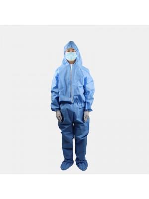 En existencia Ropa protectora Monos a prueba de polvo no tejidos