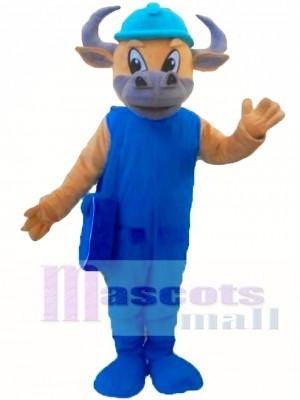 Toro Azul Disfraz de mascota