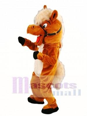 Caballo estable Disfraz de mascota