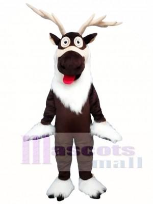 Reno de Navidad marrón Disfraz de mascota