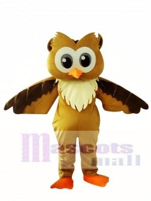 Búho marrón Disfraz de mascota