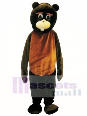 Castor profesional Disfraz de mascota