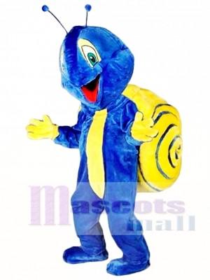Caracol azul Disfraz de mascota