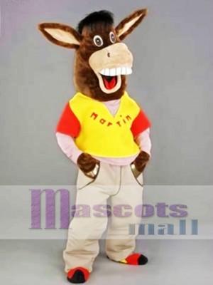 Martin el burro Disfraz de mascota