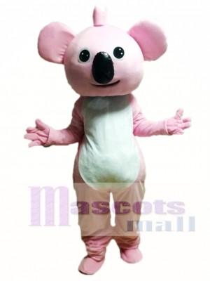 Dibujos animados de koala rosa Disfraz de mascota