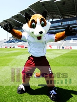Zorro de fútbol de alta calidad Disfraz de mascota