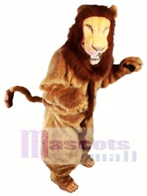 León de piel de la mejor calidad Disfraz de mascota