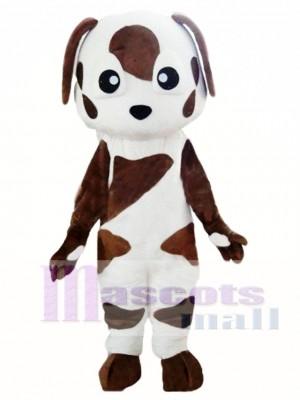 Bebé perro San Bernardo marrón y blanco Disfraz de mascota