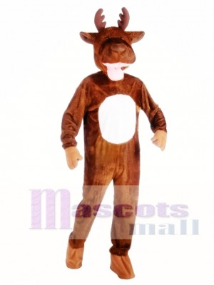 Alce de alta calidad Disfraz de mascota