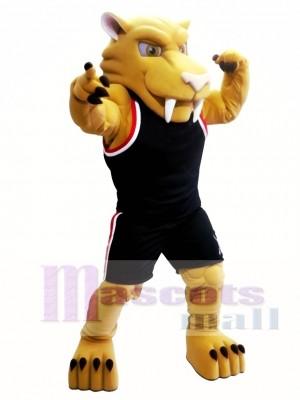 Tigre dientes de sable Disfraz de mascota