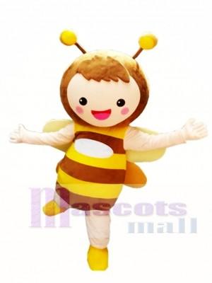 Abeja amarilla linda Disfraz de mascota