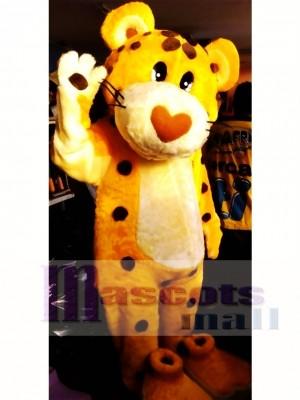 Lindo guepardo Disfraz de mascota