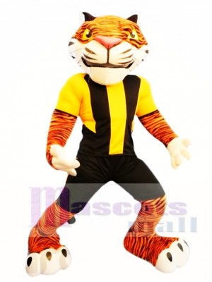 Tigre poderoso Disfraz de mascota