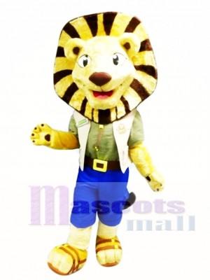 León de la locura Disfraz de mascota