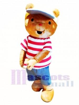 Oso Bobbi con Sombrero Disfraz de mascota