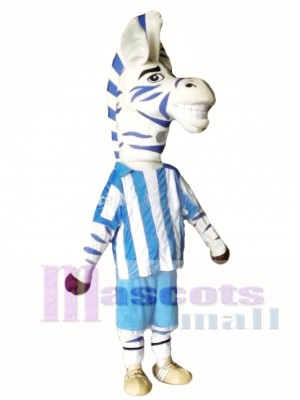 Cebra adulta Disfraz de mascota