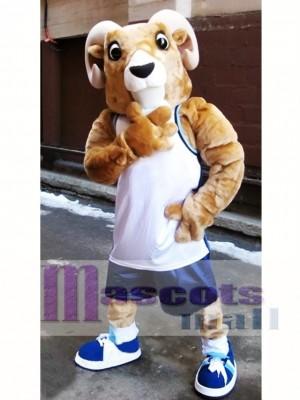 Ram deportivo de alta calidad Disfraz de mascota