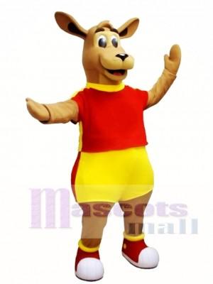 Canguro de alta calidad Disfraz de mascota