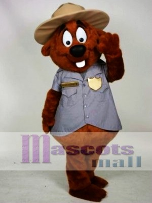 Castor de la policía Disfraz de mascota