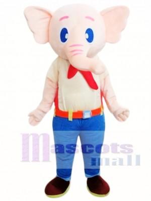 Elefante beige Disfraz de mascota