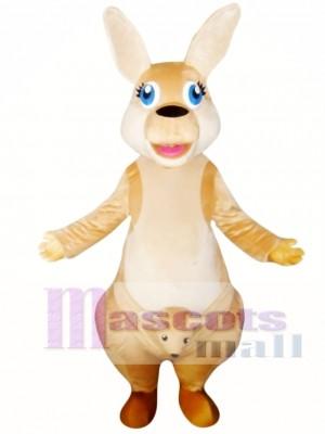 Canguro hecho a mano Disfraz de mascota
