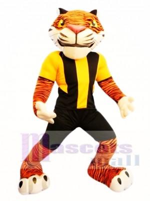 Tigre deportivo de alta calidad Disfraz de mascota