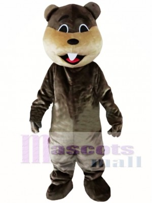 Castor Río de la selva Disfraz de mascota