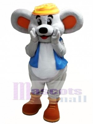 Ratón Mogul Amistoso Disfraz de mascota