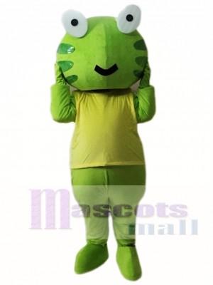 Rana verde Disfraz de mascota