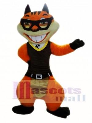 Ardilla naranja Disfraz de mascota