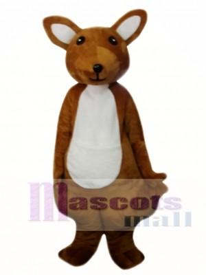 Lindo canguro adulto Disfraz de mascota
