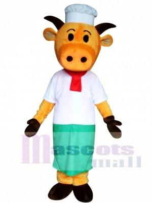 Sombrero Vaca Naranja Disfraz de mascota