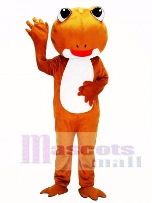 Rana marrón Disfraz de mascota