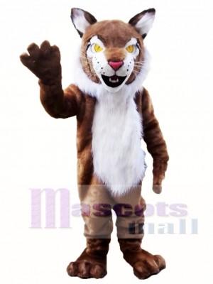 Gato montés marrón Disfraz de mascota