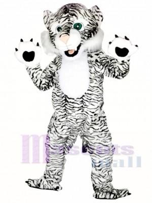 Tigre blanco y negro Disfraz de mascota