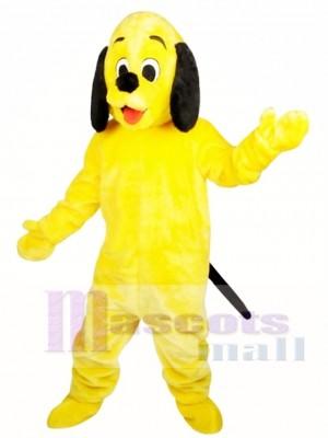 Animal de peluche de perro soleado para adultos Disfraz de mascota