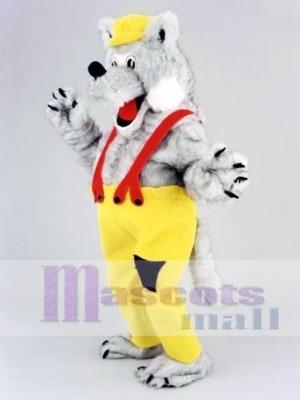 Lobo feliz Disfraz de mascota