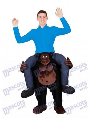 Llévame Gorila de hombro Seguir adelante Traje de paseo a cuestas