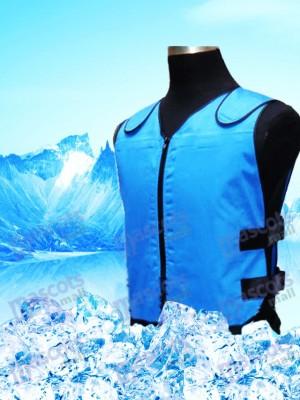 Sistema de enfriamiento del chaleco de enfriamiento con 8 bolsas de hielo para disfraz de mascota