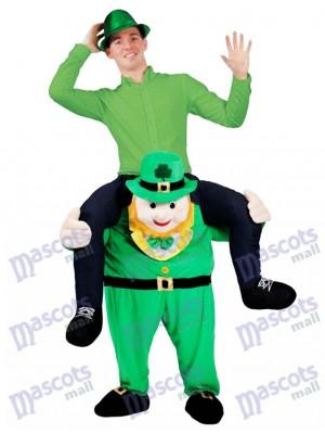 A cuestas irlandesa Llévame Seguir adelante Duende Disfraz de mascota