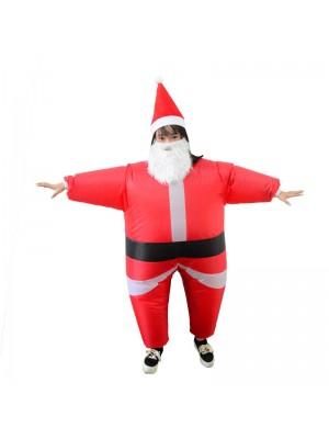 Papá Noel Disfraz inflable